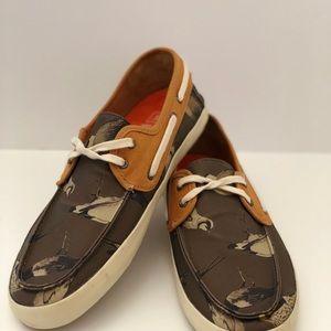Vans Chauffeur Gray MOC Textile Boat Shoes